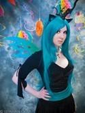 Changeling Queen Teal Wig - Designed By Yaya Han