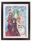 Code Geass Akito the Exiled Ichiban Kuji A Prize Framed Art Print Poster