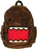 Domo-kun Fuzzy Back Pack School Bag