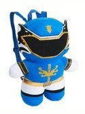 Power Rangers 15'' Blue Ranger Plush Back Pack Bag