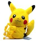 Pokemon Black and White 12'' Pikachu Plush Back Pack Bag