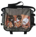 Attack on Titan Mikasa, Eren and Armin Messenger Bag