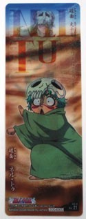 Bleach Holographic Nel Plastic Trading Book Mark