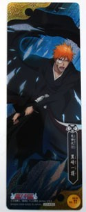 Bleach Ichigo w/ Mask Plastic Trading Book Mark