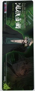 Bleach Urahara Plastic Trading Book Mark