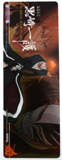 Bleach ichigo Plastic Trading Book Mark