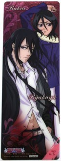 Bleach Byakuya and Rukia Plastic Trading Book Mark