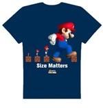 Nintendo Mario T-shirt Size Matters