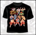 Street Fighter Group T-Shirt