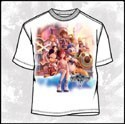 Kingdom Hearts Protaganists T-Shirt