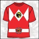 Power Rangers Red Ranger T-Shirt Adult