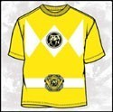 Power Rangers Yellow Ranger T-Shirt