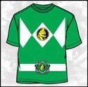 Power Rangers Green Ranger T-Shirt