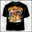 Power Rangers Group Shady Con T-Shirt