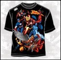 Marvel Heavenly Bodies Team Up T-Shirt