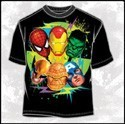 Marvel Six Color Team Up T-Shirt