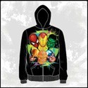 Marvel Six Color Team Up Hoodie