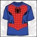 Marvel T-Shirt Spiderman Costume