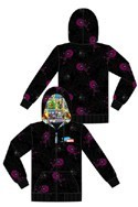 Tokidoki X Marvel Spider-Man Web Zip-Up Hoodie