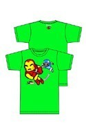 Tokidoki X Marvel Touchdown Green T-Shirt