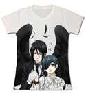 Black Butler Winged Sebastian and Ciel T-Shirt