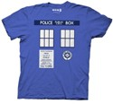 Doctor Who Tardis Cosplay T-Shirt
