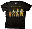 Dragonball Z Saiyan Evolution T-Shirt