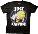 Dragonball Z Just Saiyan T-Shirt