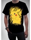 Pokemon Pikachu Black T-Shirt