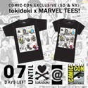 Tokidoki X Marvel Comic Con Exclusive T-Shirt