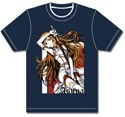 Sword Art Online Asuna T-Shirt Blue Men's