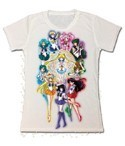 Sailor Moon Group Junior's T-Shirt