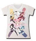 Puella Magi Madoka Magica Group Junior's T-Shirt