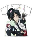 Black Butler Sebastian With a Rose Junior's T-Shirt