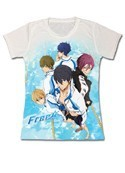 Free - Iwatobi Swim Club Group T-Shirt