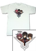 Code Geass Zero, Suzaku, Kallen Geass T-Shirt