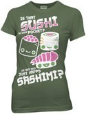 Kawaii Not Happy Sashimi T-Shirt