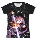 Sword Art Online GGO Kirito Junior's Black T-Shirt