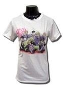 Ouran High School Host Club Group Junior Sized White T-Shirt