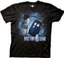 Doctor Who Doctor w/ Telephone Booth T-Shirt