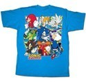 Sonic the Hedgehog Blue Group T-Shirt