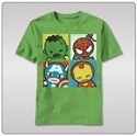 Marvel Kawaii Avengers T-Shirt