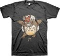 My Neighbor Totoro Mononoke Hime Parody T-Shirt Men's