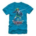 Zelda Skyward Sword Link T-Shirt Blue Men's