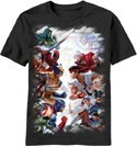 Marvel Vs. Capcom T-Shirt Adult Men's
