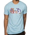 League of Legends Tea Party Blue Men's T-Shirt