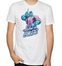 League of Legends Corporate Mundo White T-Shirt Adult Sizes