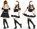 Maid Black and White Lolita Costume L