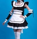 Lolita Maid Costume Women's Sizes