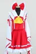 Touhou Project Reimu Costume